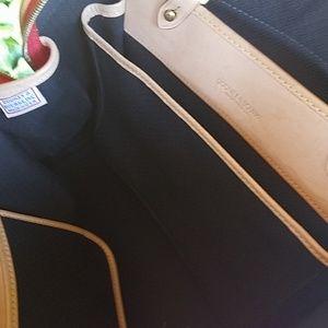 Dooney & Bourke Bags - Dooney & Bourke Red Canvas/Leather bag.